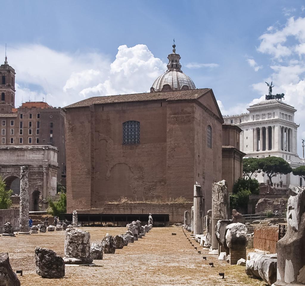 римский форум курия юлия