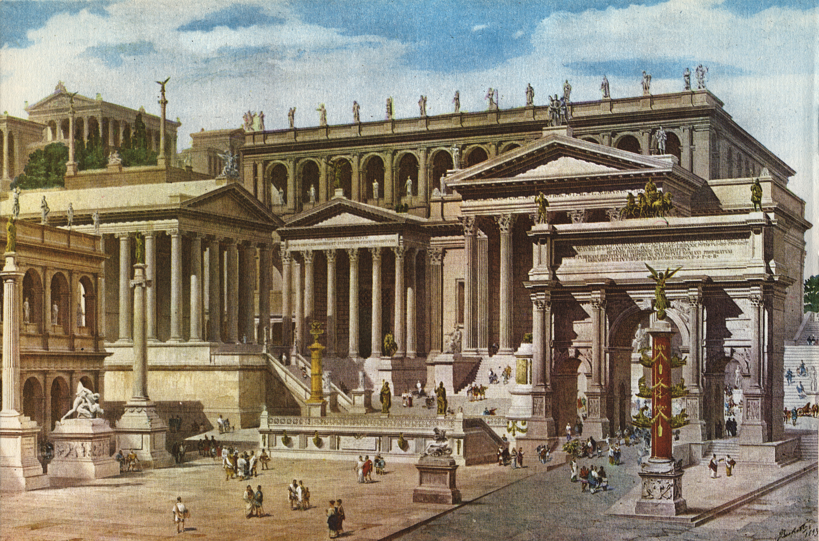 rome history Much of western culture has their beliefs shaped around roman thought our philosophy was born in rome most art theory was born in rome even much of modern science was born there (though they did supposedly destroy a lot when they razed the libr.