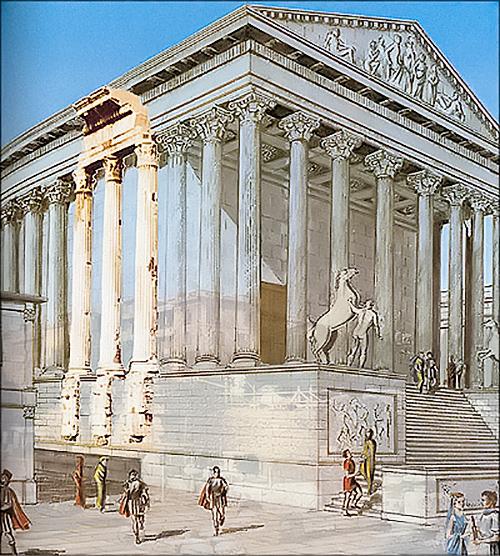 храм диоскуров2