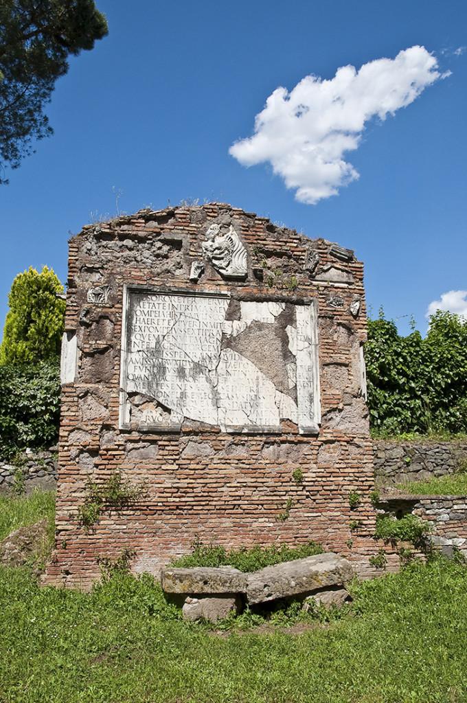 Гробница сыновей Секста Помпея