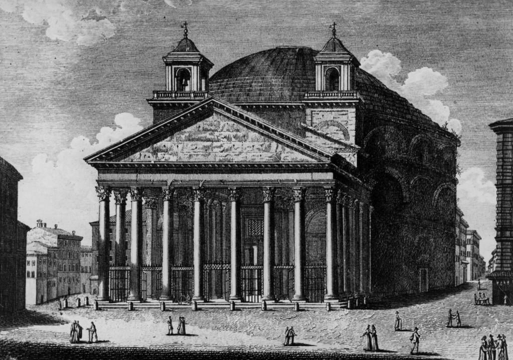 Пантеон гравюра