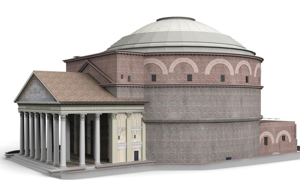 Пантеон-реконструкция