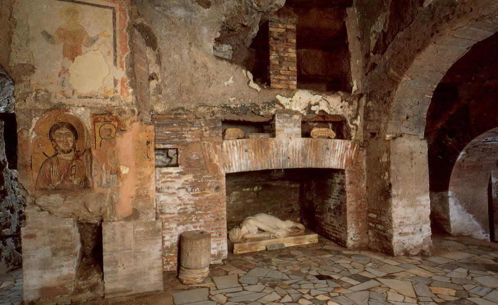 катакомбы старая аппиева дорога