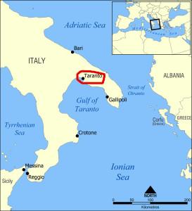 тарентский залив