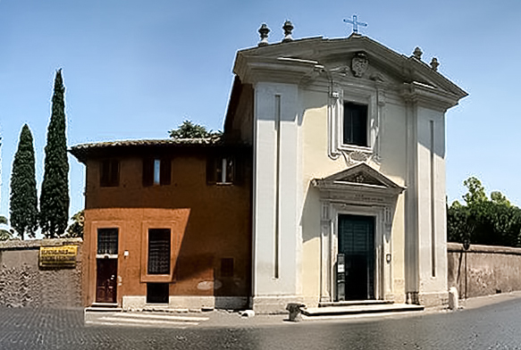 Церковь Домине-Кво-Вадис. Старая Аппиева дорога