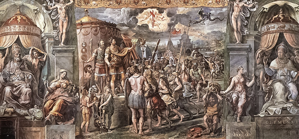 the ways in which the rule of constantine the great helped unify rome Constantine the great (1942) the conversion of constantine and pagan rome a revolt against constantine's rule in gaul.