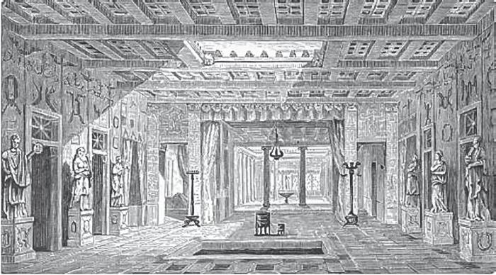 дом саллюстия город Помпеи