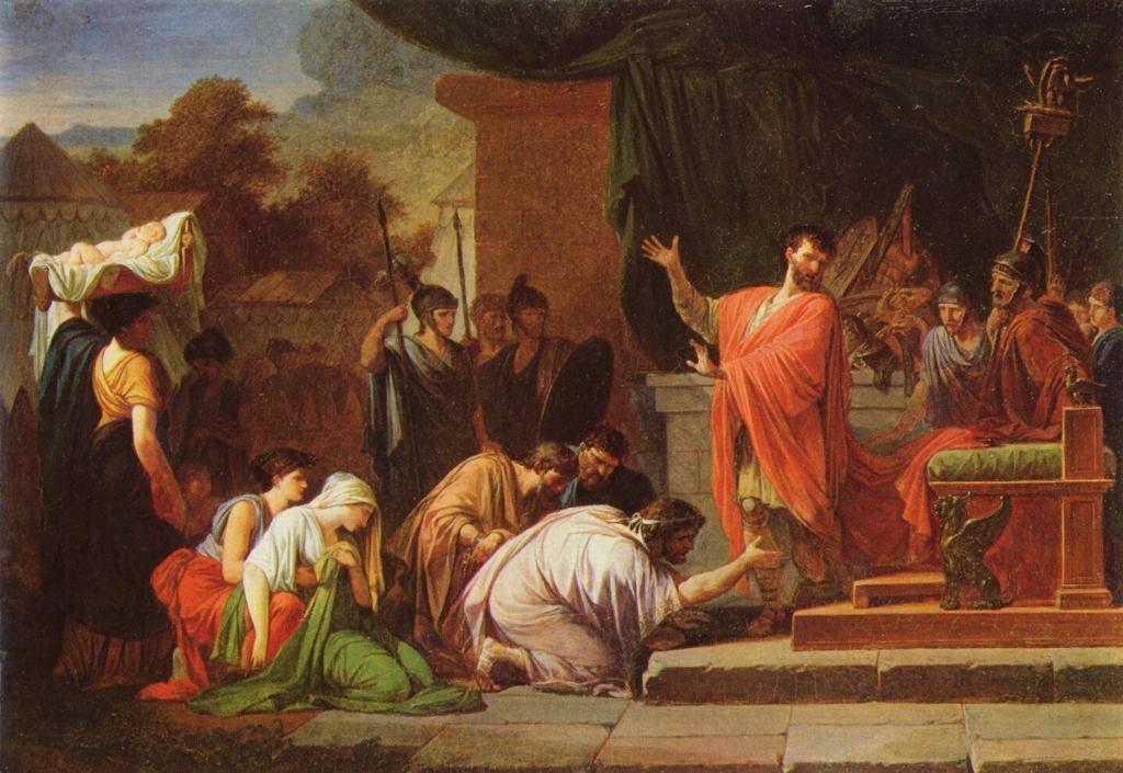 Персей перед эмилием