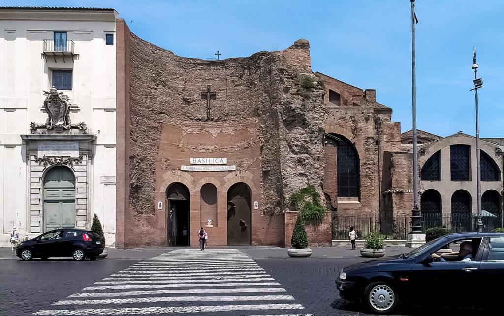 Санта Мария дельи Анджели э деи Мартири