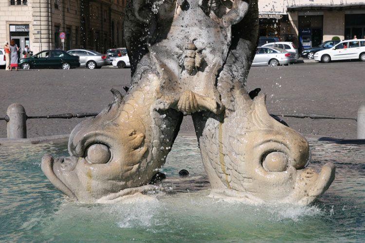 фонтан тритона