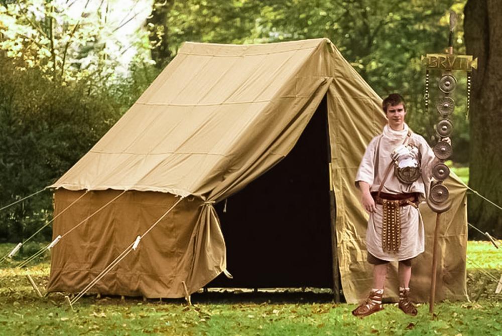 лагерь палатка