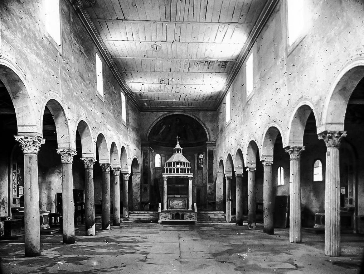 Базилика в 1895 году