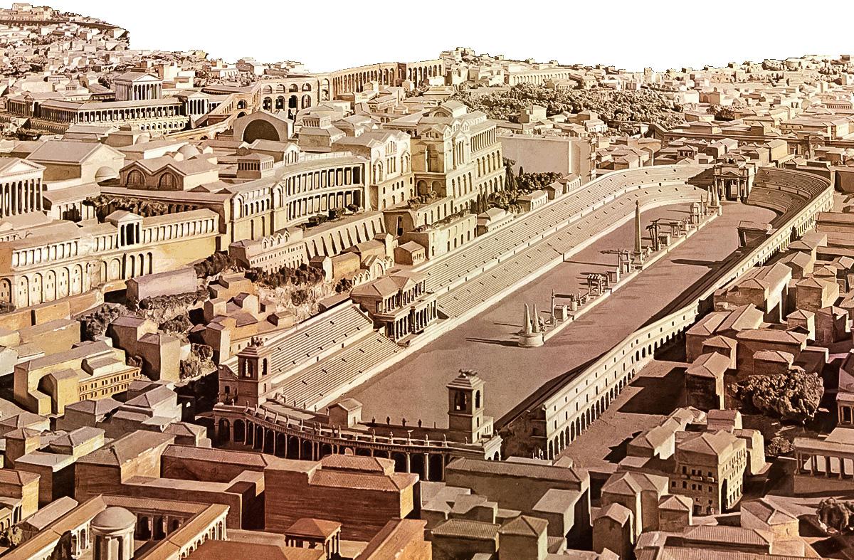 схема акведуков в древнем риме
