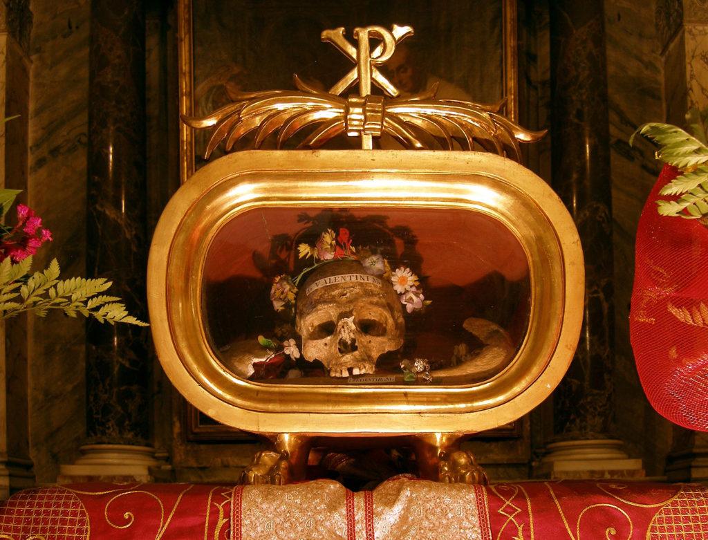 череп святого валентина