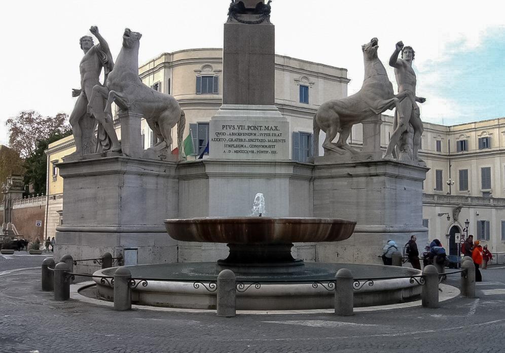фонтан диоскуров