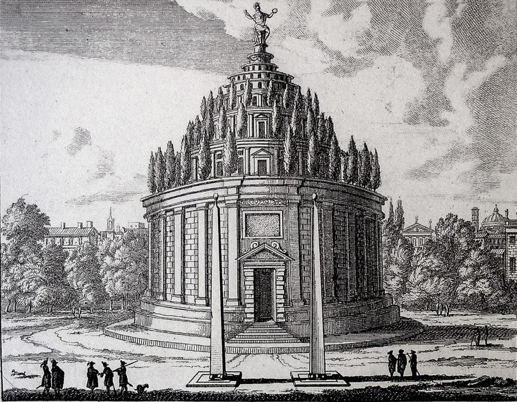 Мавзолей Августа. Гравюра - реконструкция