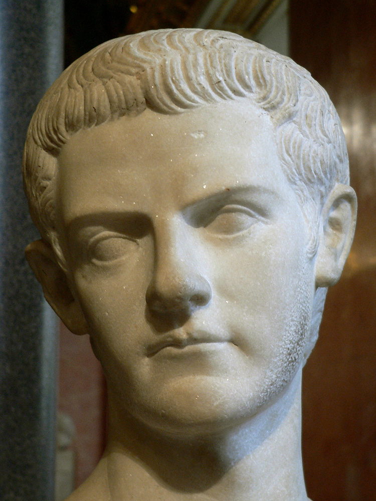 a synopsis of caligula known to history as a colorful emperor //wwwbiographycom/people/caligula-9235253 synopsis gaius caesar, nicknamed caligula or  history if this is your not caligula, but emperor aurelian of.