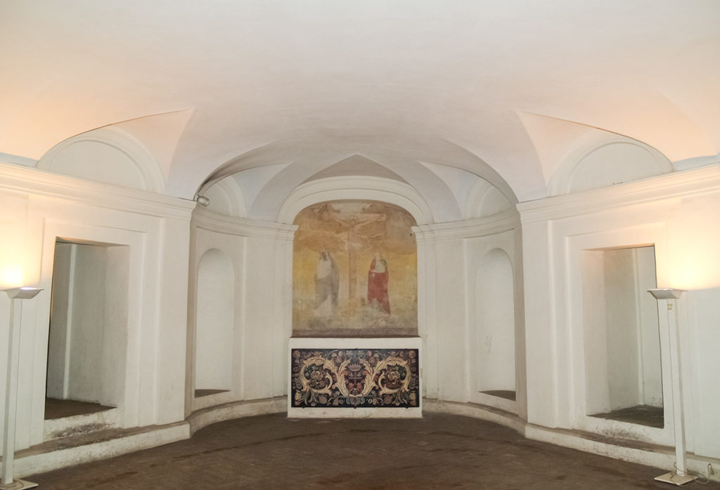 Крипта Сан Карло алле Куатро Фонтане