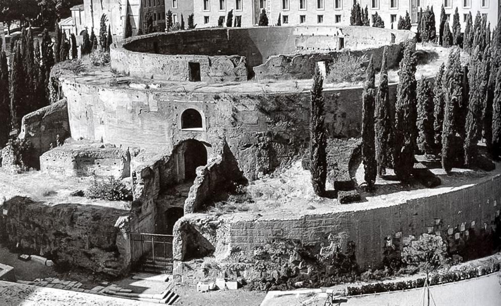 Мавзолей Августа при Муссолини