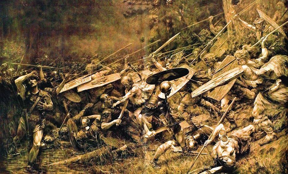 Поражение римлян в Тевтобургском лесу