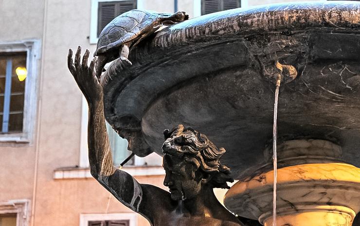 фонтан черепах