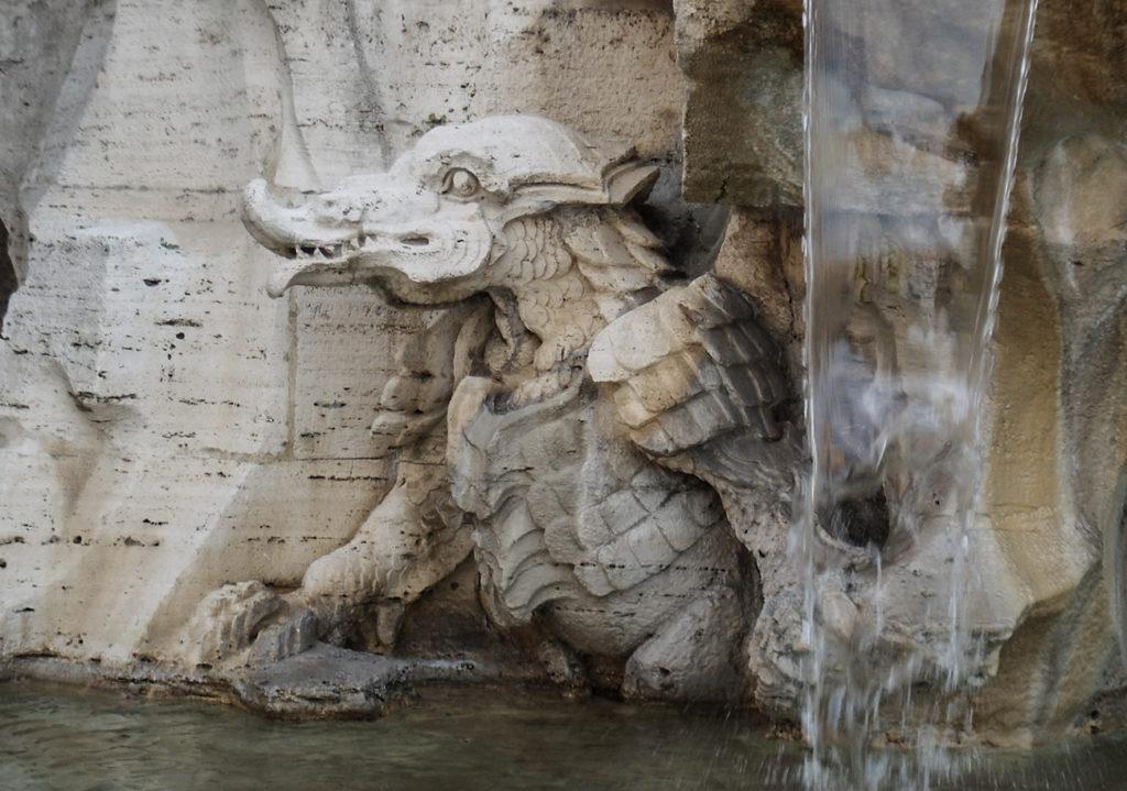 фонтан четырех рек