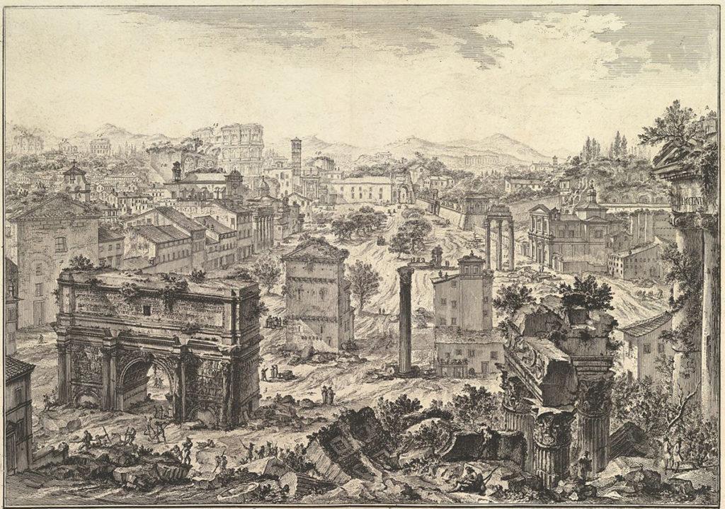 средневековый рим