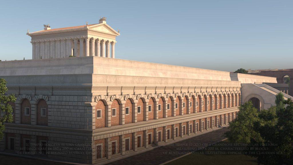 храм божественного клавдия