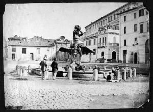 Пьяцца Барберини. Конец19 века