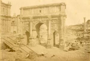 арка септимия севера 1880