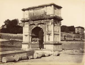 арка тита 1870