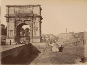 арка тита 1875