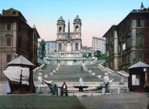 испанская лестница 1890