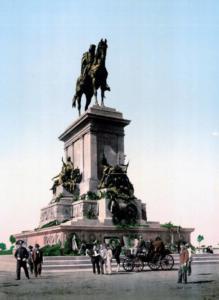 монумент гарибальди 1890