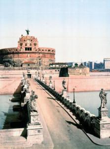 мост и замок святого ангела 1890