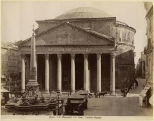 Пантеон. Середина 19 века