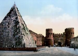 пирамида цестия 1890