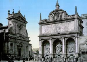 Фонтан Аква Феличе. 1890