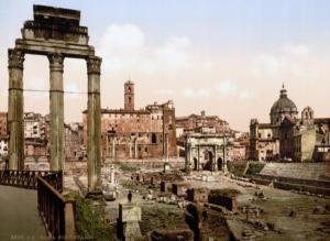Римский Форум. 1890