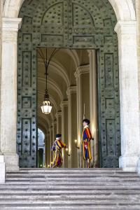 Ватикан. Швейцарская гвардия