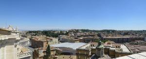 Вид на город с крыши Собора Святого Петра