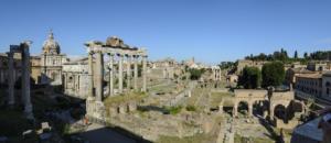 Вид на Римский Форум с Капитолия