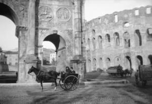 l'Arco di Costantino 1920