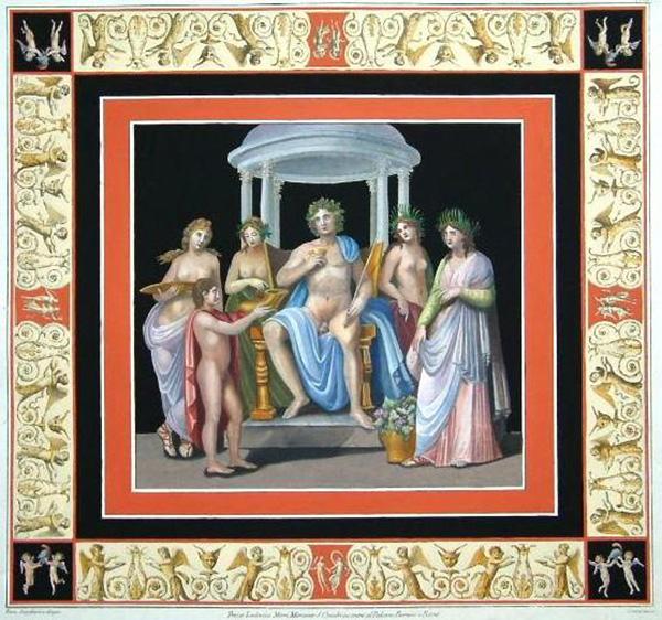 Фрески Золотого Дома Нерона. Копия эпохи Возрождения