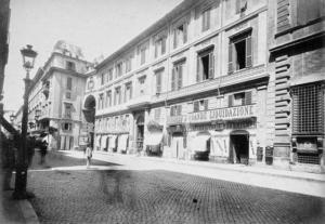 Виа дель Корсо 1886