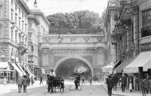 Тоннель Умберто I 1900
