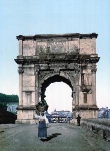 арка тита 1890