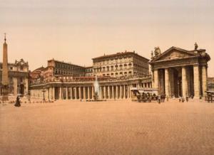 площадь святого петра 1900