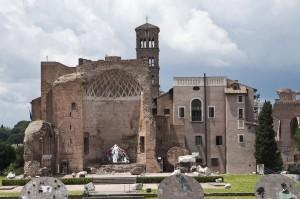 Храм Венеры. Вид с Колизея