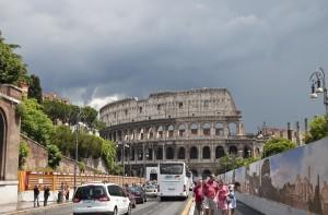 Вид на Колизей с Виа Фори Империали